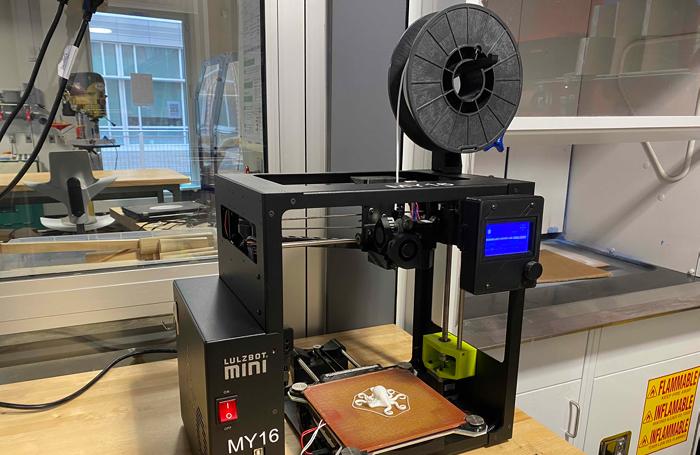 NinjaFlex 3D printer